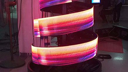 柔性屏相比常规LED显示屏全彩区别在哪?美亚迪光电