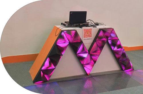 LED异形屏 柔性屏 软模组 全彩