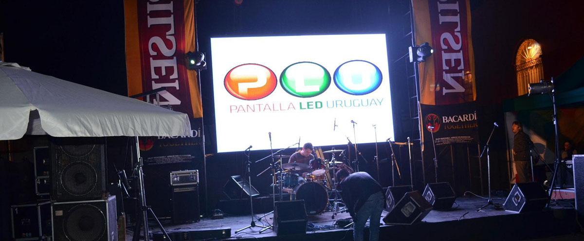 乌拉圭P4户内租赁LED显示屏