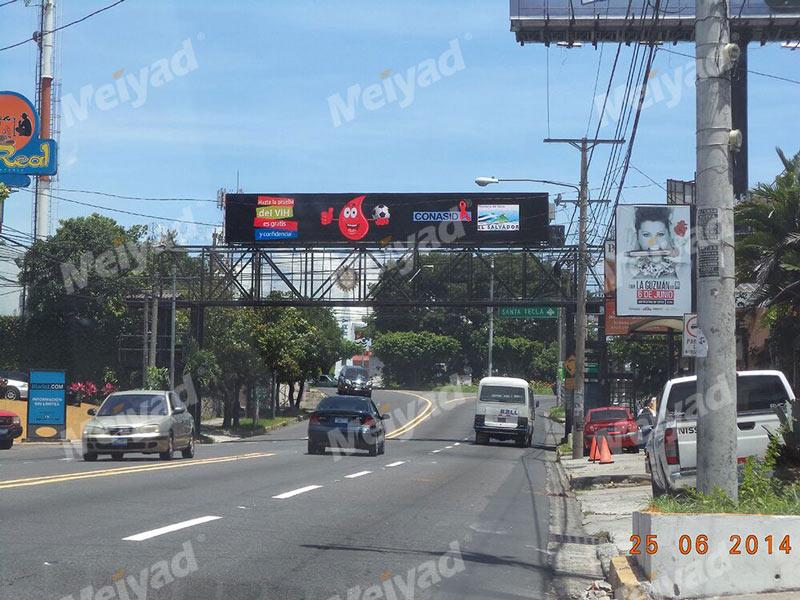 萨尔瓦多P10户外LED广告牌