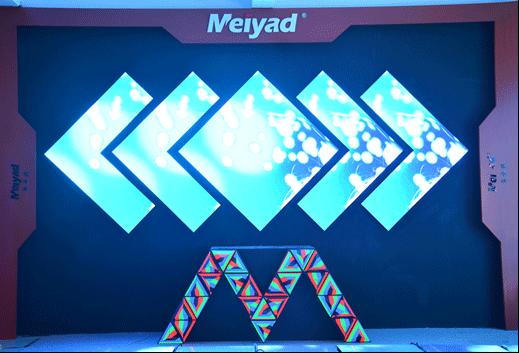 LED显示屏三角板