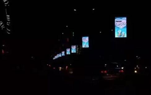 美亚迪灯杆屏助力智慧城市建设