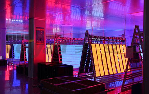 美亚迪光电P2.5小间距LED显示屏即将出货沙特五星级酒店
