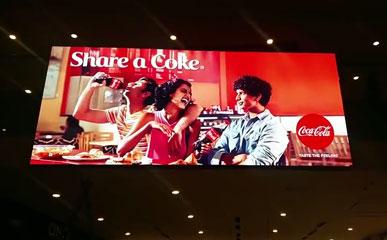 P2.5室内高清LED广告屏应用于印度