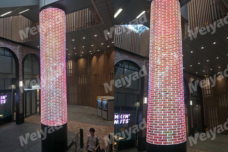 P2.5柔性LED圆柱屏
