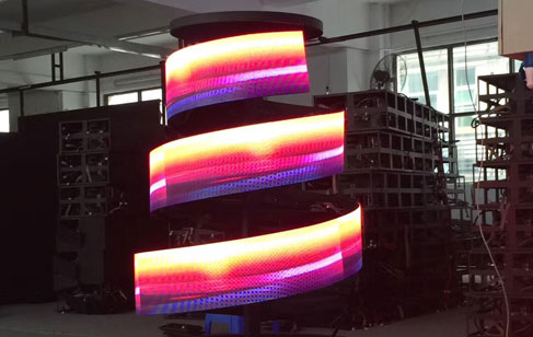 LED异形屏 柔模组