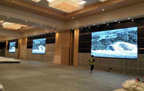 大型酒店和超市选择LED室内屏注意事项
