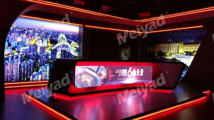 北京某电视台P2.5柔性LED显示屏