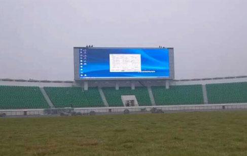 体育场馆LED大屏的种类和特点