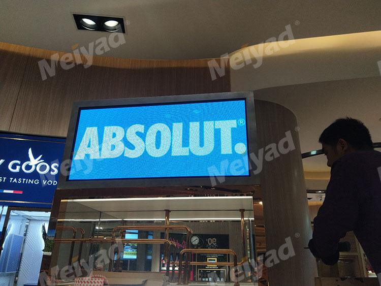 广州机场P1.923小间距高清小间距LED显示屏