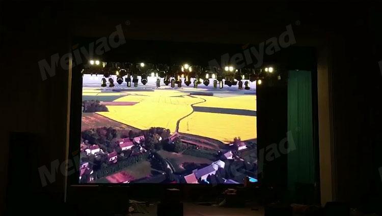 P5户内固装LED显示屏应用于哈萨克斯坦55平米