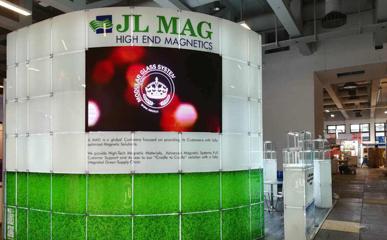 乌克兰展会P2.5软模组LED柔性屏异形屏