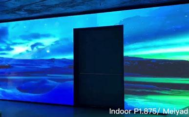马来西亚P1.875户内高清小间距LED显示屏33㎡