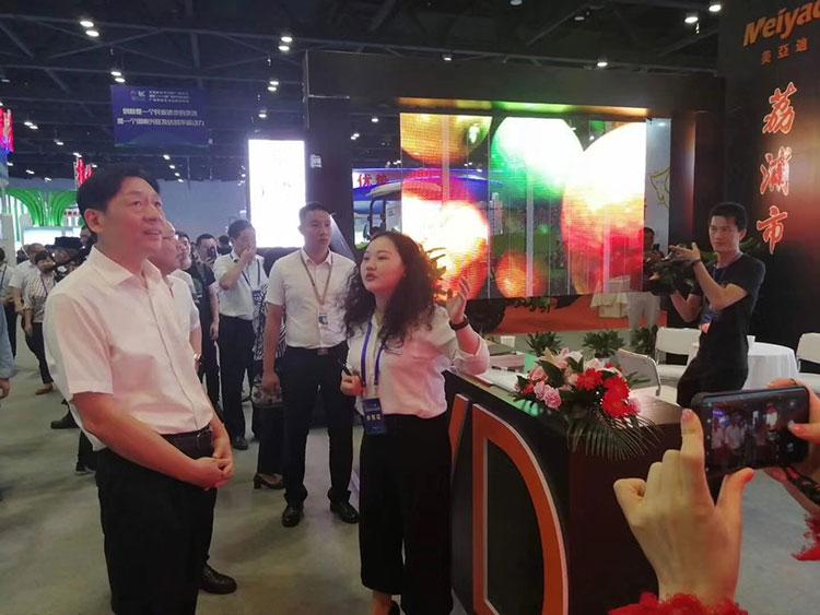 荔浦美亚迪参加2019年南宁科技成果展