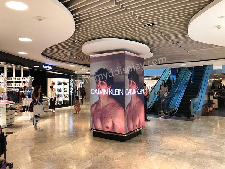 新加坡购物中心P2.976户内LED显示屏LED广告屏