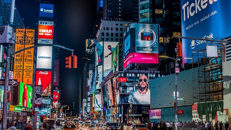 户外商业LED广告屏