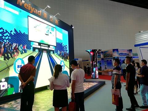 美亚迪柔柔性屏软膜组系列产品亮相东盟博览会,引领LED显示屏智慧新未来