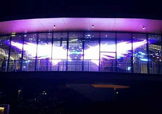 LED透明显示屏 墙体展示全彩深圳