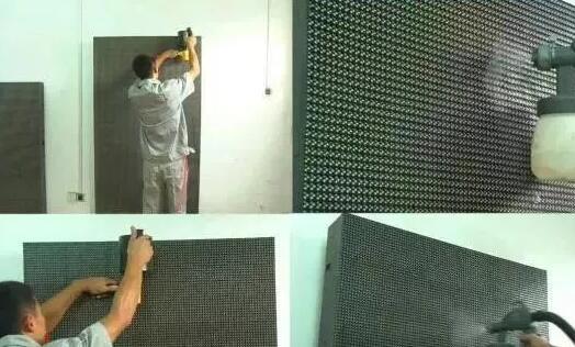 LED模组 清洗中 美亚迪