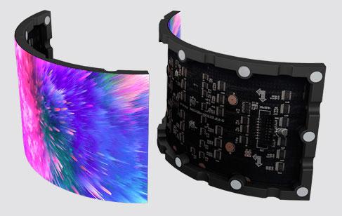 美亚迪户内LED柔性屏LED软模组