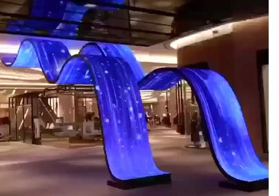 LED波浪屏
