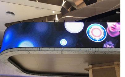 土耳其医院P4 LED弧形屏