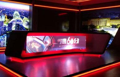 北京电视台LED弧形屏P2.5
