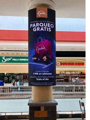 阿根廷购物中心P4LED弧形屏