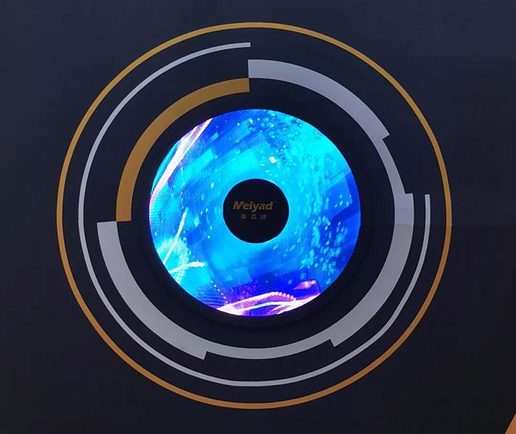 美亚迪P2户内LED环形屏LED甜甜圈