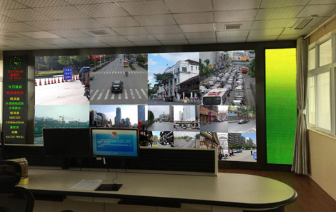 交通监控指挥中心LED显示方案设计要素
