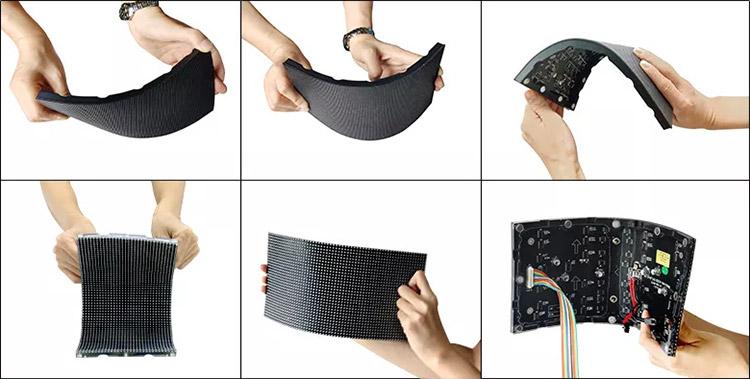 美亚迪LED柔性屏软模组