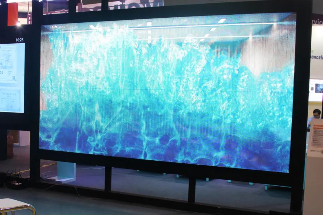 美亚迪P6贴膜LED透明屏