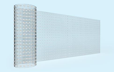 LED透明屏种类划分